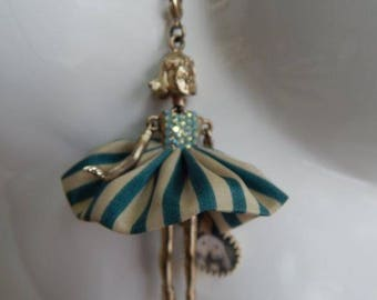 Servane Gaxotte Paris Necklace with doll