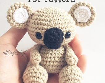 PDF Pattern altErMuligt's Baby Koala approximately 9cm