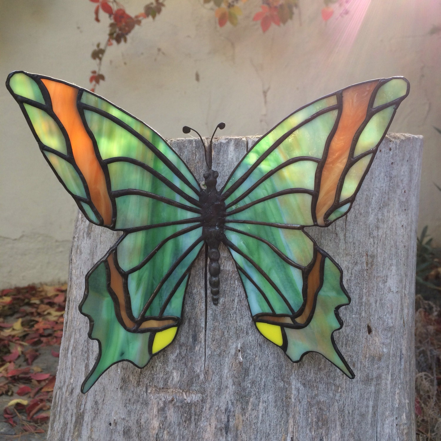 Butterfly home decor, Green butterfly, garden butterfly, butterfly ...
