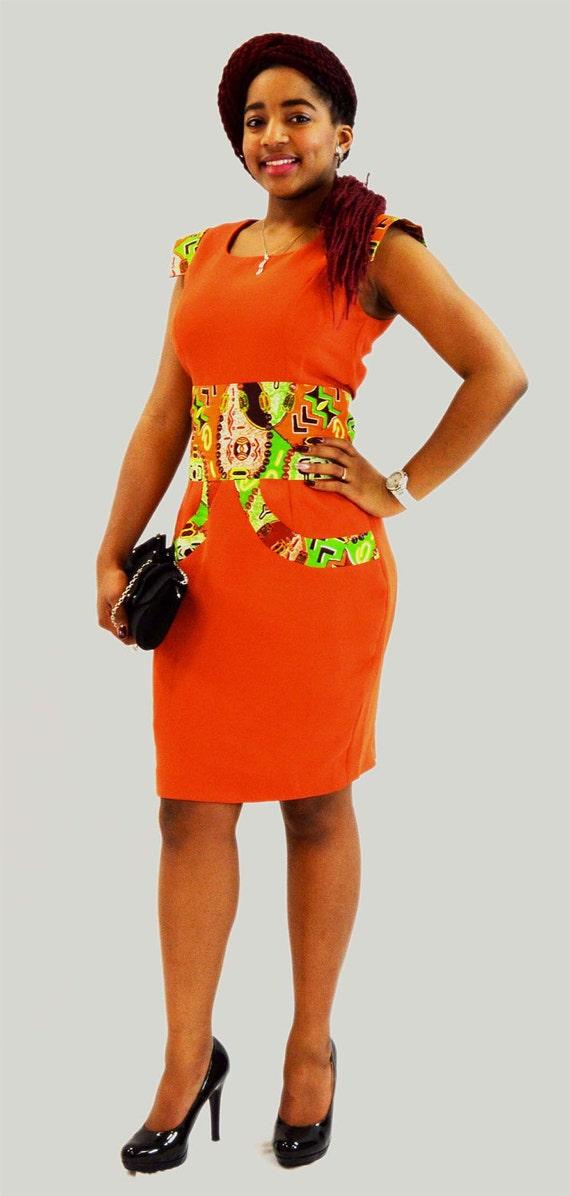 robe de soiree tissu africain modele robe africaine robe en pagne tendance robe trapeze. Black Bedroom Furniture Sets. Home Design Ideas