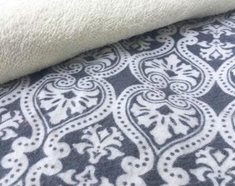 Napkins / Small Napkin / Cloth Wipes / Lunchbox Napkin / Reusable Napkin / Family Cloth / Kids Napkins, Set of 10 Damask Print