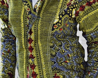 Victoriana African Print Jacket