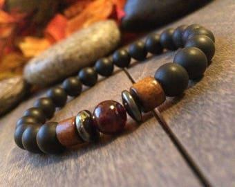 Spiritual Warrior -Men Bracelet, Yoga Jewelry, Tibetan Jewelry, Chakra Bracelets, Mens Jewelry, Yoga bracelet, Buddha Bracelet, fathers day