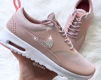 Womens Shoes Nike Air Max Thea Pink Oxford Bright Melon 599409 610 599409 610