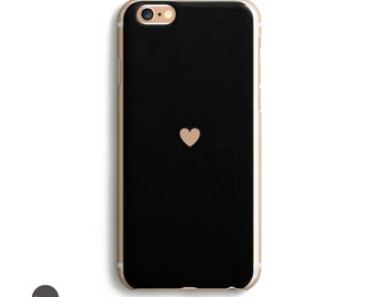 Heart black iphone 6s case, iphone 7 case, iphone 6 plus case protective, iphone se case, iphone 6s plus case, iphone 6s case, iphone 5s