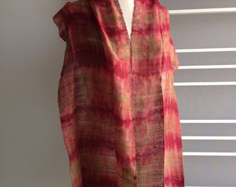 Fire Red Scarf, 132