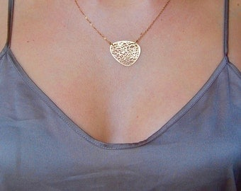 Amphore necklace - original gold pendant