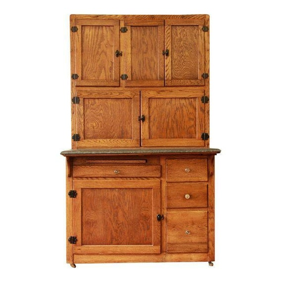 how to antique oak kitchen cabinets items similar to sold antique oak hoosier cabinet 16780