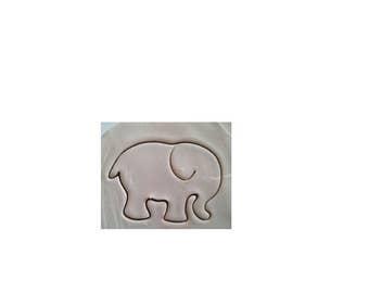 Elephant Cookie Cutter, Elephant, Cookie Cutter