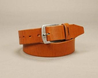 Redoker Brawn Belt - Genuine leather belt / Mens belt