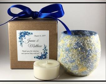 Wedding Candle Favors, Bridal Shower Gifts For Guests, Wedding Shower Favors, Bridal Shower Favors, Tealight Holder, Tea Light Candle Holder