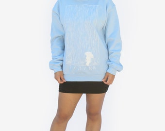 Blue Rain Sweater
