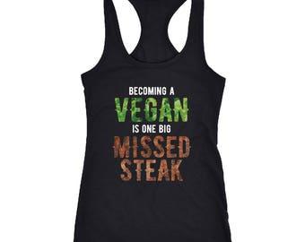 Omnivore Racerback Tank Top T-Shirt. Funny Omnivore Tank.