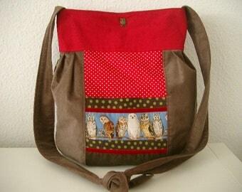 OWL Pocket bag shoulder bag shoulder bag