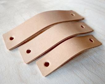 leather handles pulls drawer dresser cabinet door handles cabinet kitchen - Cabinet Door Handles