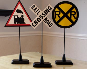 Train Centerpiece Sticks (STANDS SOLD SEPARATELY)