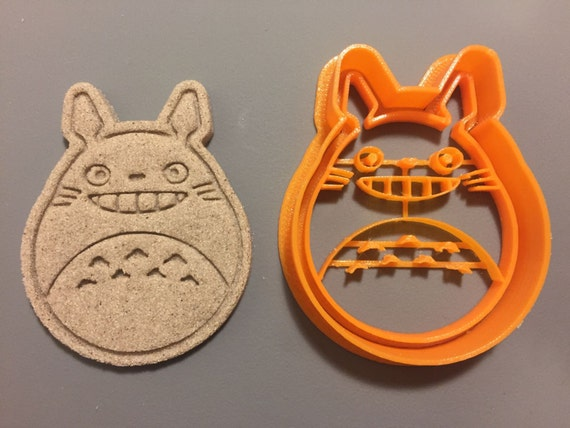 Atomade 3D Printed Japanese Anime My Neighbor Totoro Cookie Cutter