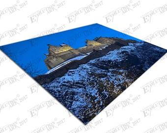 Print on Canvas Edinburgh Castle Scotland blue sky X1345