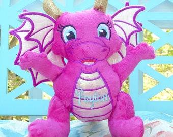 Personalized handmade Dragon for boy or girl