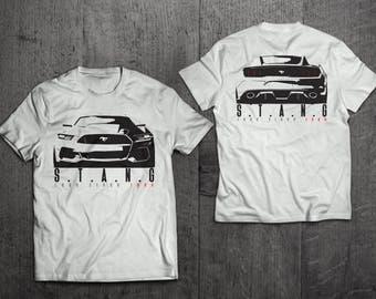 Ford Mustang Shirts, Mustang T shirts, Shelby shirts Cars t shirts, men tshirts women t shirts muscle car shirts 2 side print shirts Mustang