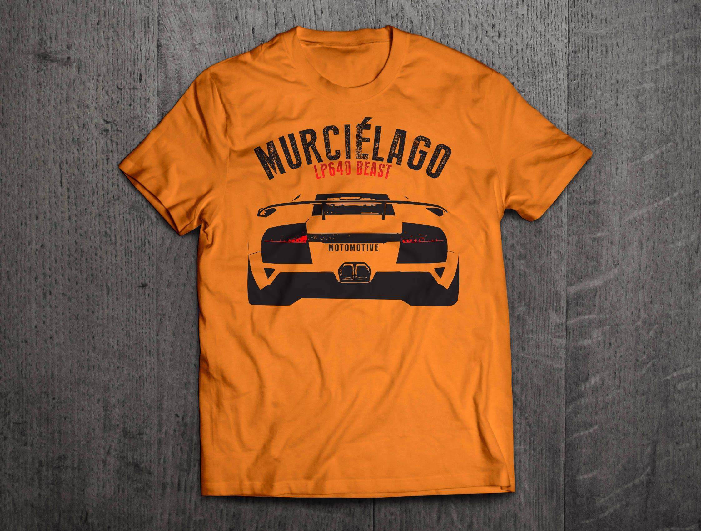 Lamborghini Shirts Lambo Lp640 T Shirts Lambo Murcielago