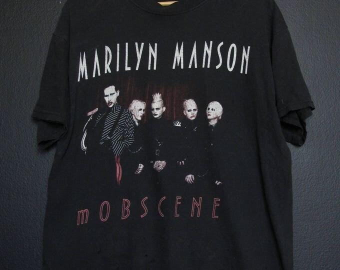 Marilyn Manson Mobscene Tshirt