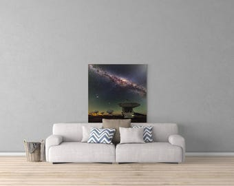 Center of the Milky Way Canvas  10% of All Revenue is Donated to NASA!!!