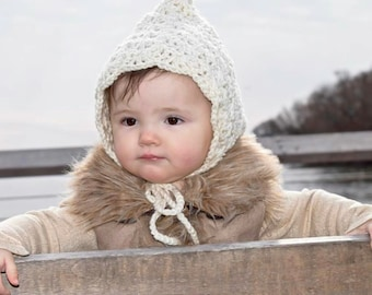 baby pixie hat toddler hat winter hat fall hat toddler pixie hat