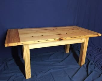 Coffee Table Made From Reclaimed Wood