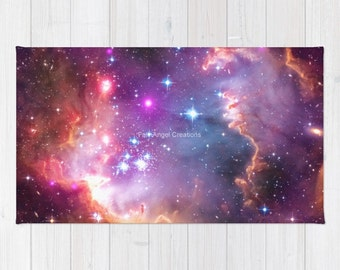 Angelic Galaxy Accent Rug, 3 Sizes Available!