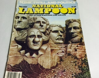 National Lampoon July 1980 magazine