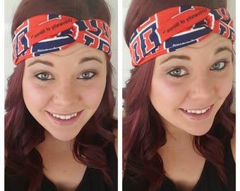 University of Illinois - Fighting Illini Headband