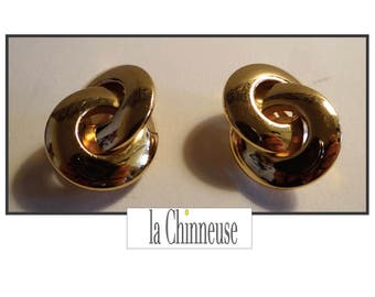 CHRISTIAN DIOR EARRINGS / Christian Dior earrings / french Vintage Dior Earrings.