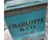 Large Card Box & CO Turqu...