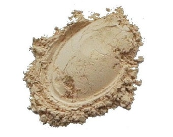 Mineral Powder Foundation, 'LIGHT', Vegan, Cruelty-free, Acne safe, 7g Sifter Jar