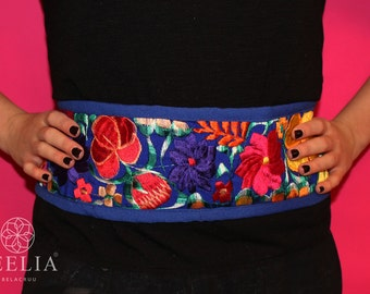 Benita embroidered belt