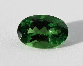 1.1 cts Tsavorite Garnet - Chrome Green