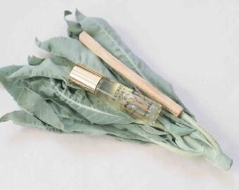 Sacred Spirit Oil - White Sage Infused Sunflower Oil, Palo Santo Oil, Essential Oils Aromatherapy Oil