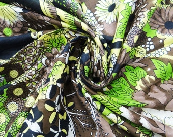 """Dressmaking Fabric Cotton Fabric For Sewing Designer Black Indian Fabric 44"""" Width Floral Quilt Cotton Pillow Apparel By The Yard ZBC2257"""