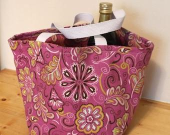 Reusable Canvas Grocery Bag (Small)