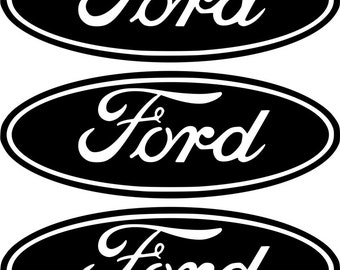 5 x #Ford logo car vinyl sticker decal fiesta focus mondeo Badge Bumper Badge