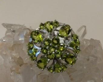 Peridot Ring Size 7 1/2