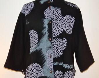 Dotted Moon Asian Jacket - FA14 5004
