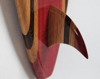 Surfboard Decorative Wall Art - 'Ohana'