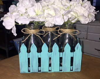 Picket Fence Flower Arrangement