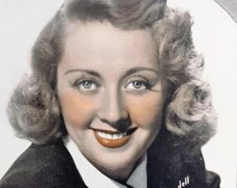 Joan Blondell Vintage Sepia 6x8 Photographic Print