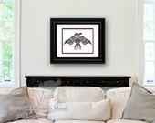 "Haida, Tlingit Thunderbird, Native American, Pacific Northwest Coast FINE ART PRINT. Custom Size & Color - ""Thunderbird"""