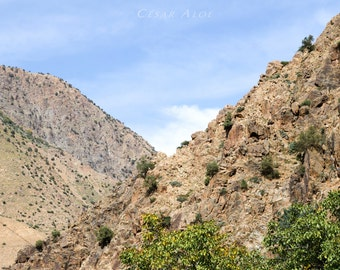 Landscape Wall Decor,instant download photography, Morocco photo, mountains picture,nature home decor,outdoor image, digital file, photo art