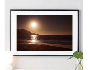 Baker Beach Sunset - Sunrise Photo | nature photography | beach | sunset | sunrise | san francisco beach | photo print | 11 sizes