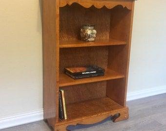 Bookshelf, solid wood, refinished